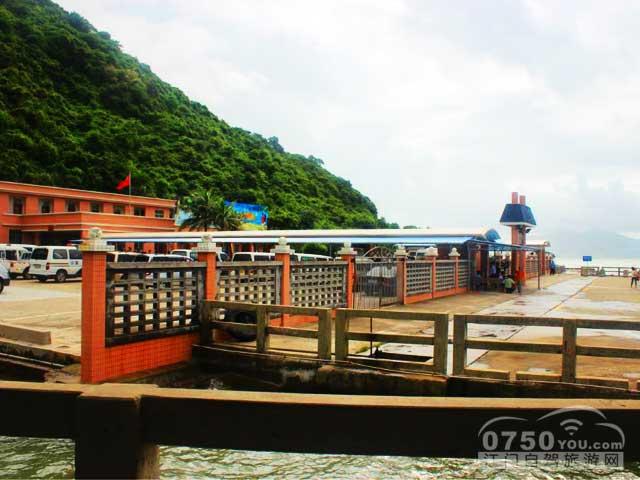 下川岛独湾港码头停车场