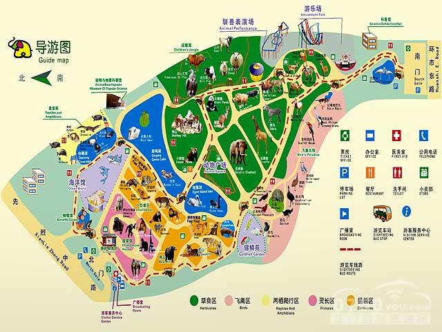 广州美食地图简笔画