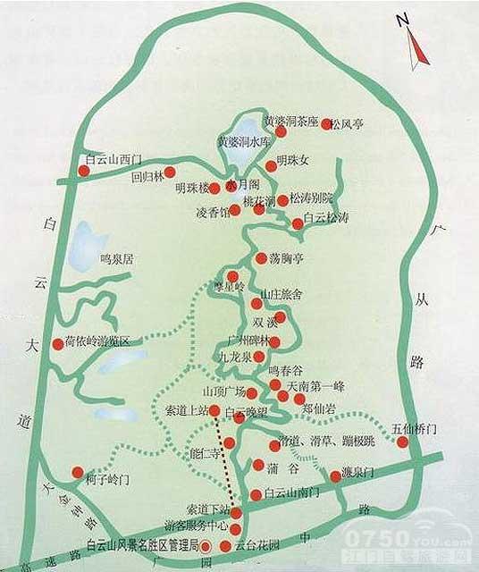 广州长隆野生动物园导游图
